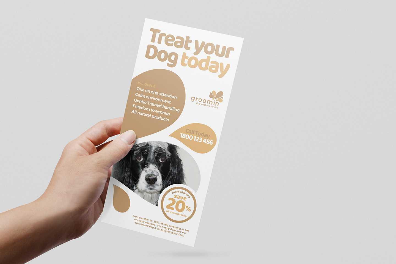 Free Pet Service Templates Pack - Psd, Ai & Vector - Brandpacks Regarding Dog Grooming Flyers Template
