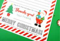 Free Printable Letter To Santa – Happiness Is Homemade inside Free Letters From Santa Template