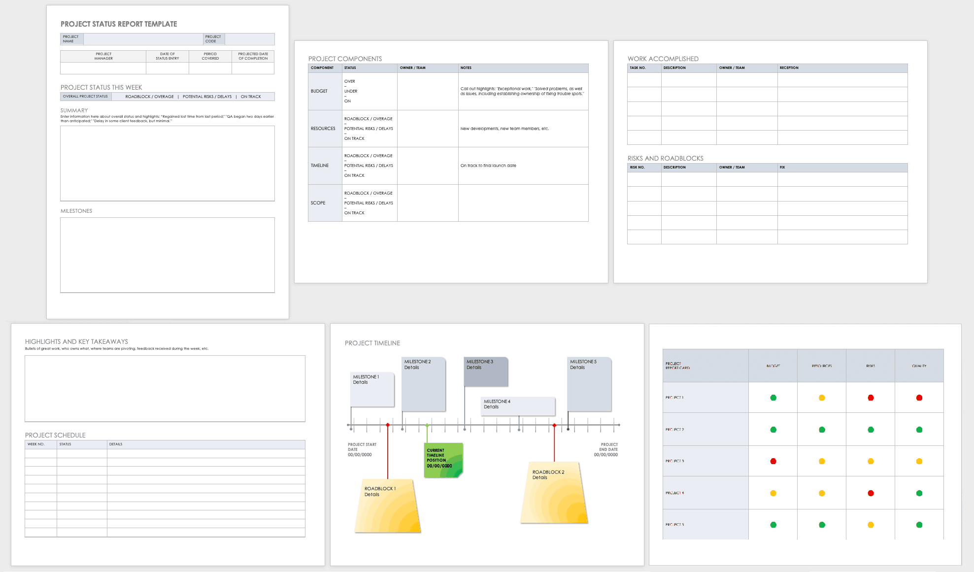 Free Project Report Templates | Smartsheet Regarding Daily Status Report Template Xls