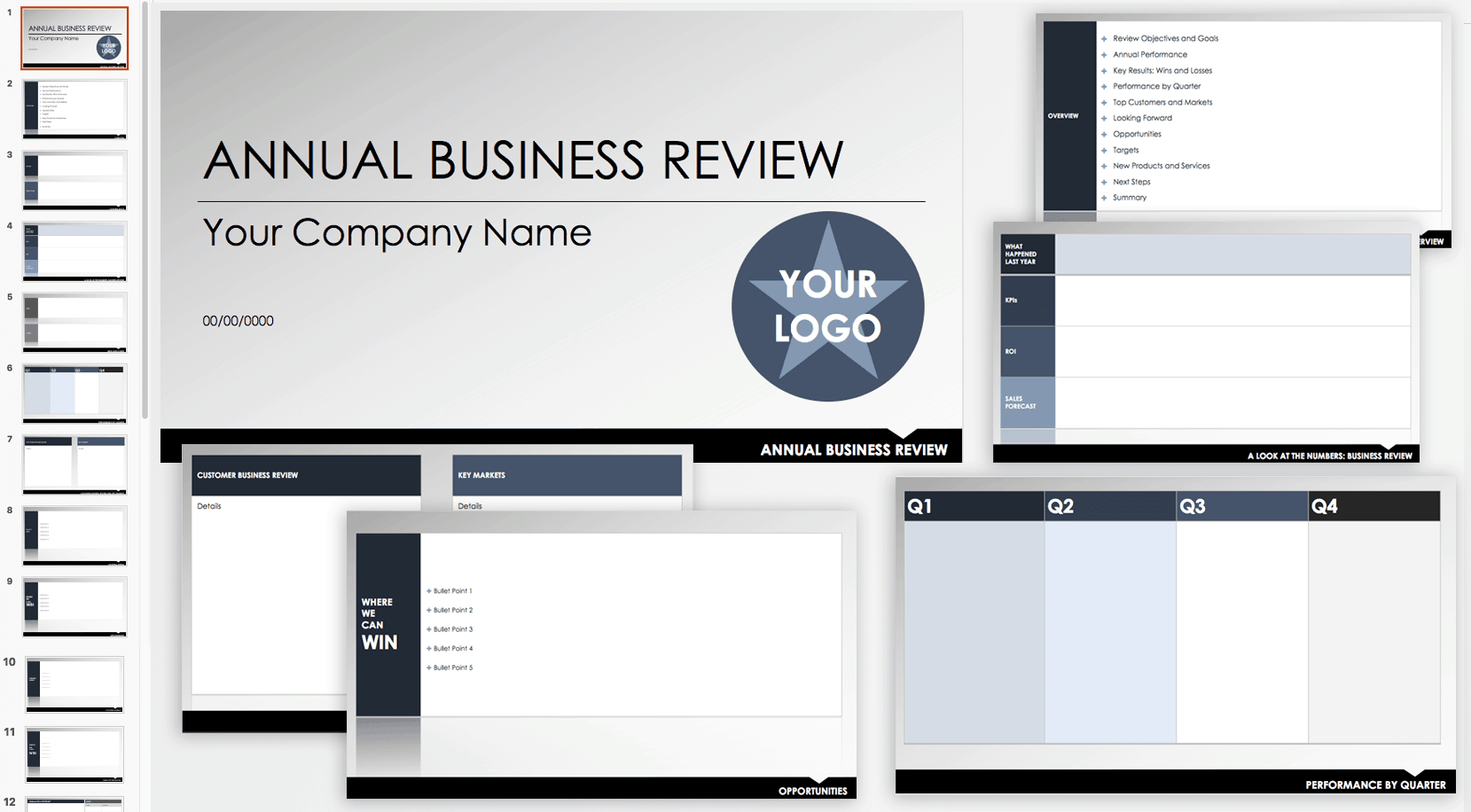 Free Qbr And Business Review Templates | Smartsheet Throughout Customer Business Review Template
