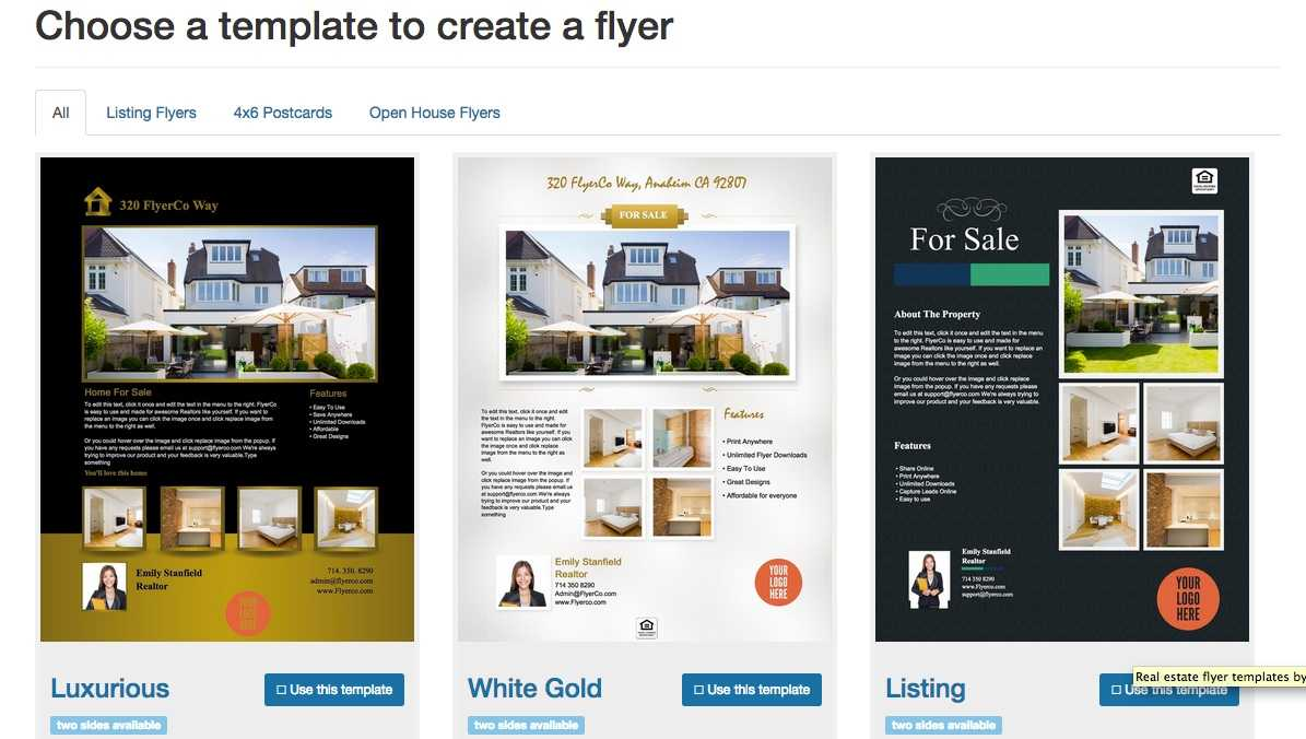 Free Real Estate Flyer Templates - Download & Print Today With Free Real Estate Flyer Templates Download