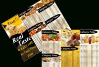 Free Restaurant Menu Templates | Free Microsoft Word Templates intended for Free Restaurant Menu Templates For Microsoft Word