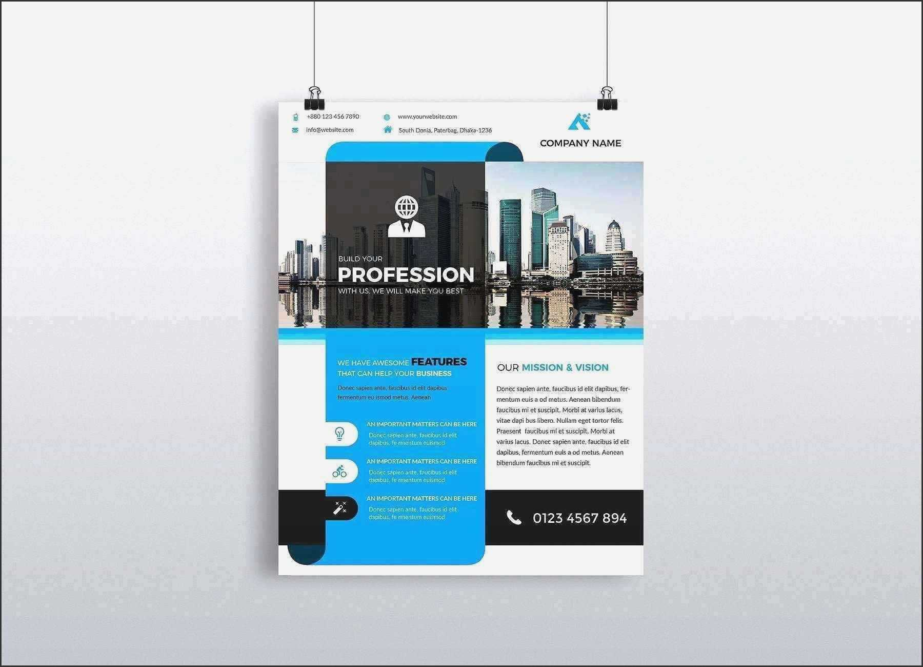 Free Templates Word Flyer - Templates : Iconz Resume Sample Inside Free Business Flyer Templates For Microsoft Word