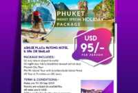 Free Travel Flyers Archives – Indiater pertaining to Free Holiday Flyer Templates