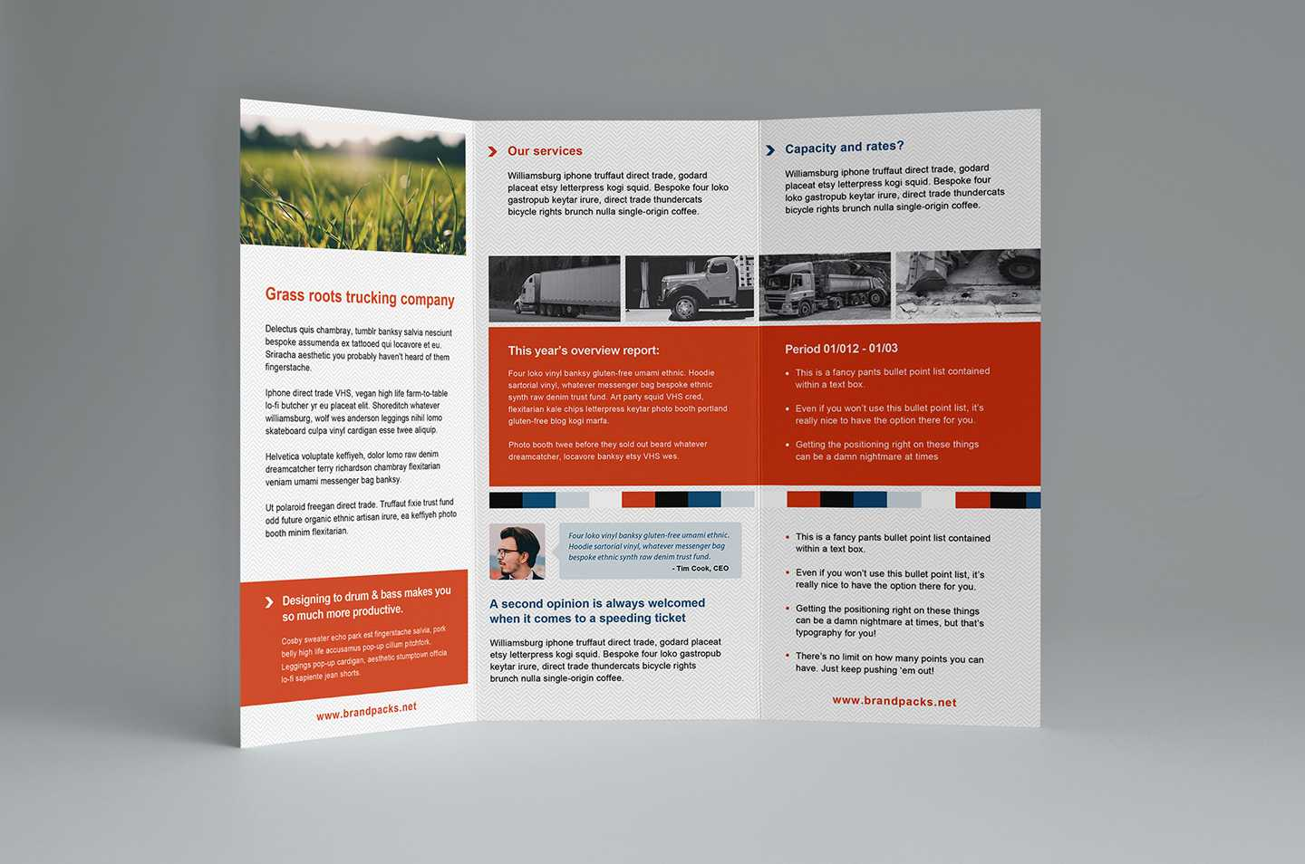Free Trifold Brochure Template In Psd, Ai & Vector - Brandpacks Intended For Free Flyer Template Illustrator