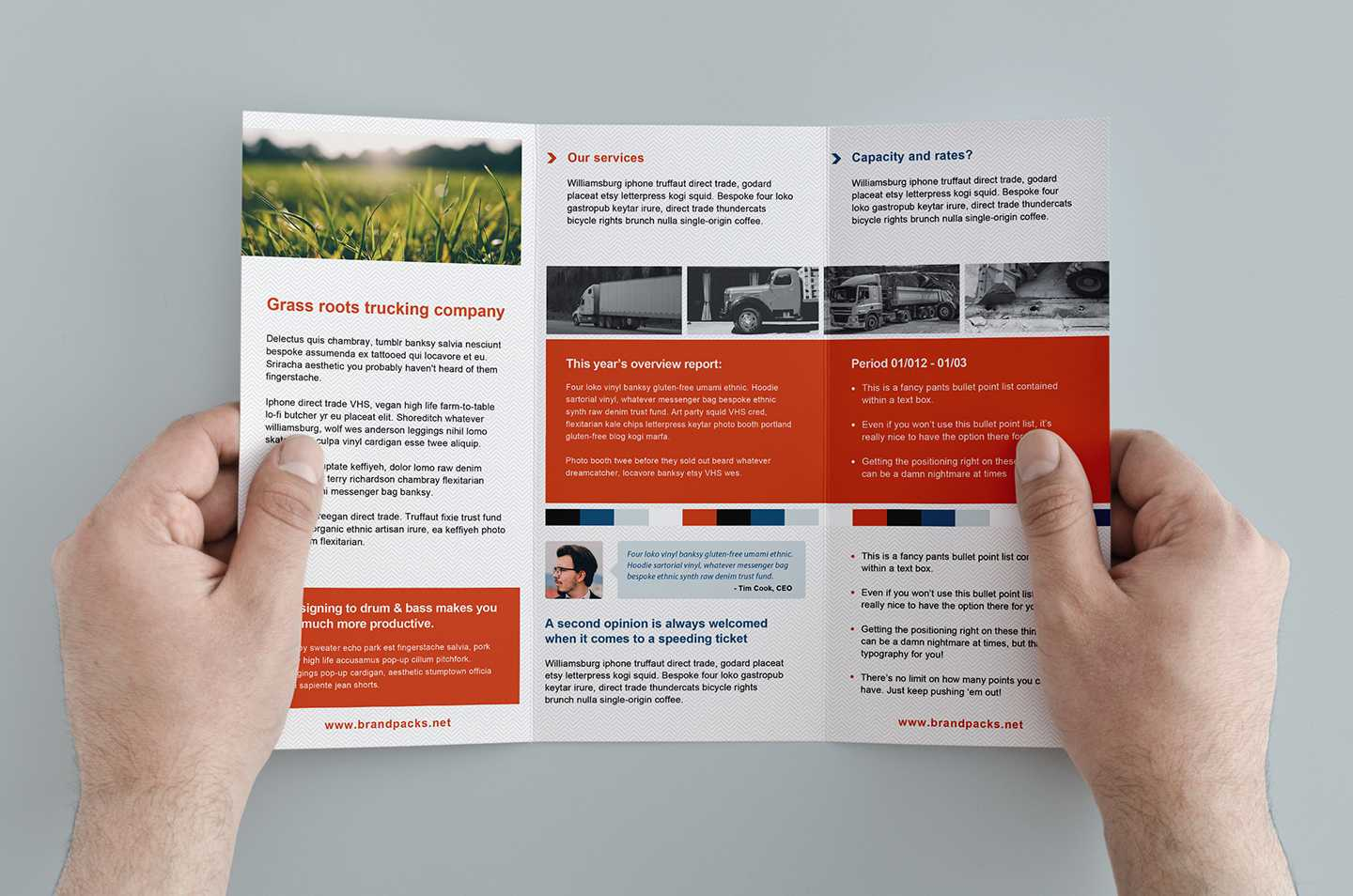 Free Trifold Brochure Template In Psd, Ai & Vector – Brandpacks Within Free Three Fold Brochure Template