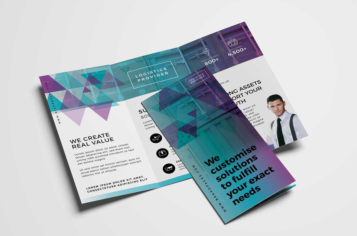 Free Trifold Brochure Template Vol.2 In Psd, Ai & Vector Within Free Three Fold Brochure Template