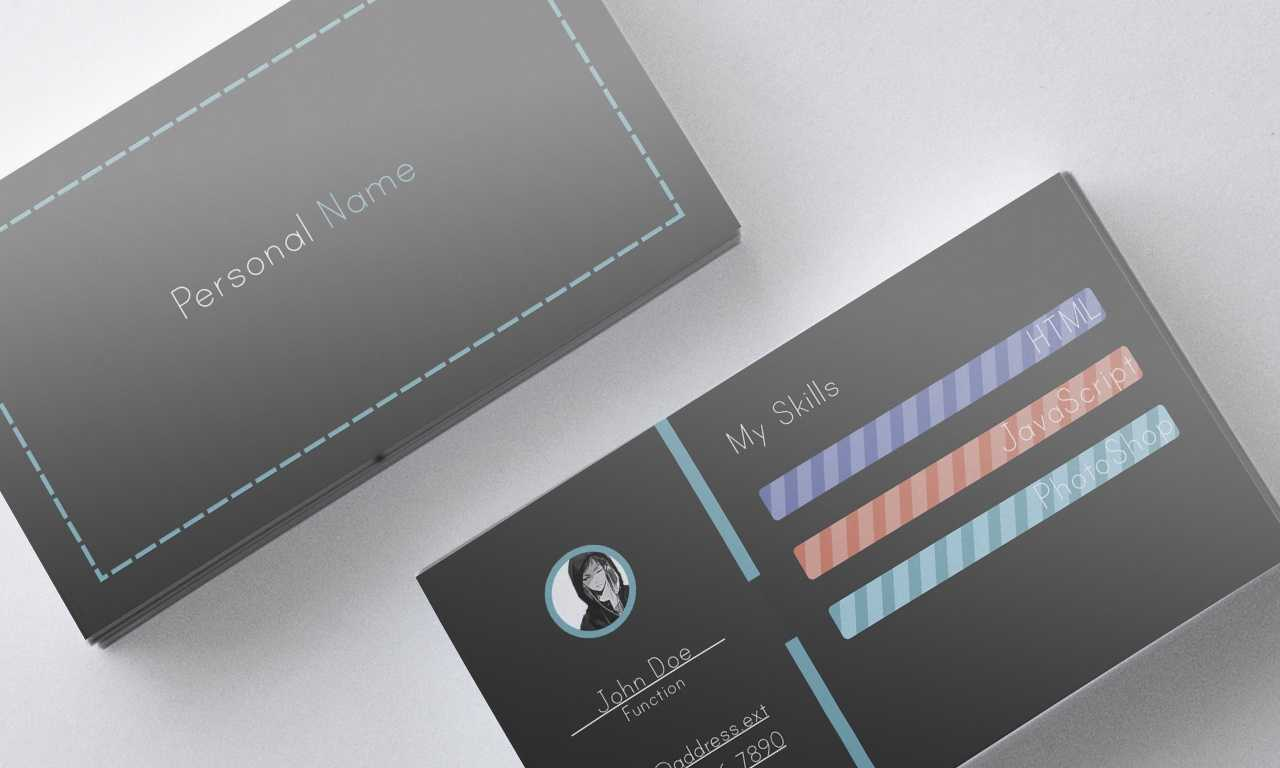 Freelancer Business Card Psd Template – Rme Pertaining To Freelance Business Card Template