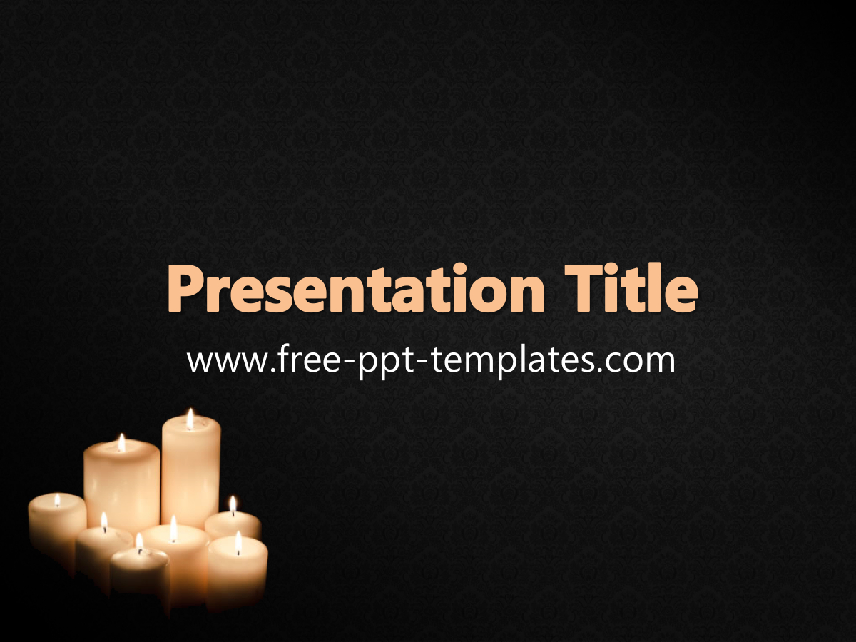 Funeral Ppt Template Pertaining To Funeral Powerpoint Templates