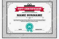 Gift Certificate First Place Award Sign | Signs/symbols throughout First Place Award Certificate Template