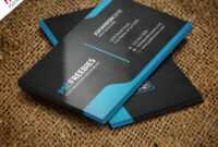 Graphic Designer Business Card Template Free Psd intended for Free Bussiness Card Template