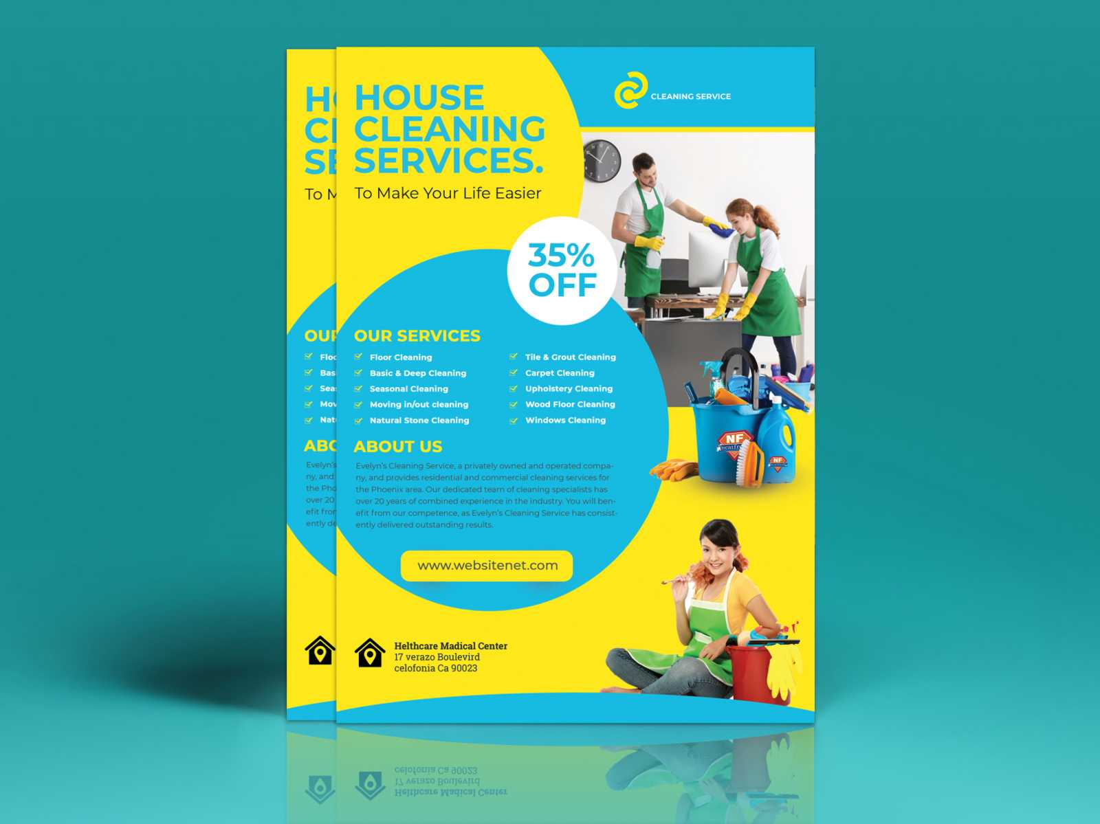House Cleaning Flyer Ideas | C Punkt Inside Commercial Cleaning Flyer Templates