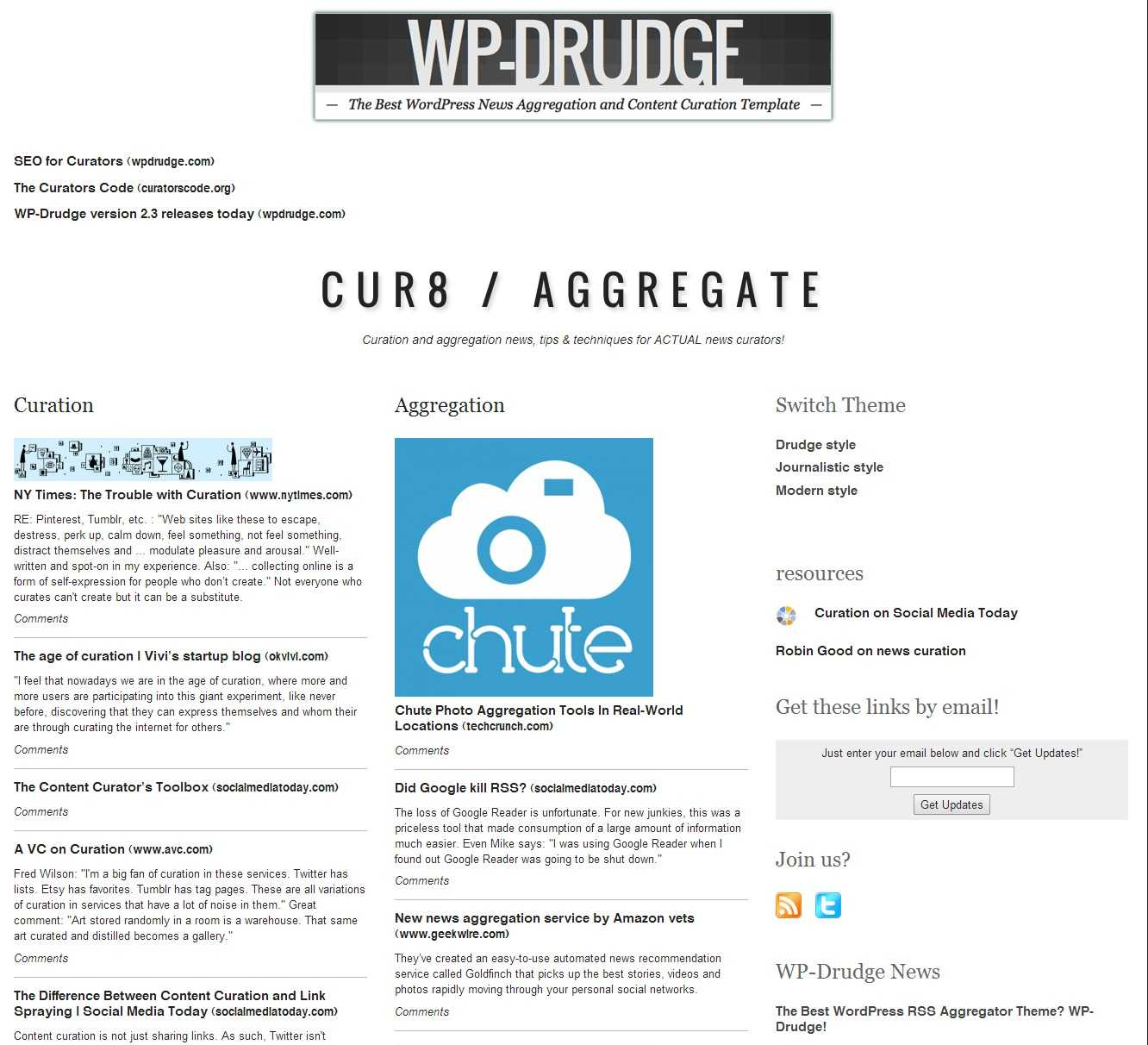 How To Create A Drudge Report Clone Using Wp Drudge - Wp Mayor Pertaining To Drudge Report Template