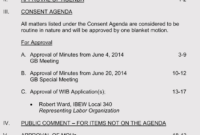 How To Format A Training Agenda (With 12+ Examples & Samples) in Consent Agenda Template