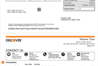 How To Read A Credit Card Statement   Discover within Credit Card Statement Template