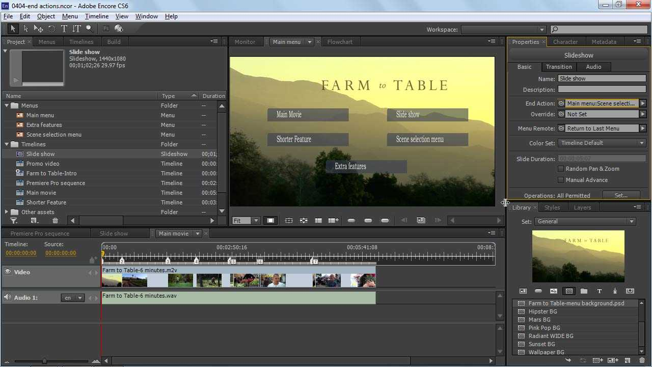 Introducing The Encore Workflow | Linkedin Learning In Encore Cs6 Menu Templates Free