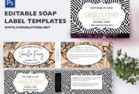 Lable Template – Tunu.redmini.co within Free Printable Soap Label Templates