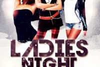 Ladies Night Free Psd Flyer Template Download – Psdflyer.co in Free Photography Flyer Templates Psd