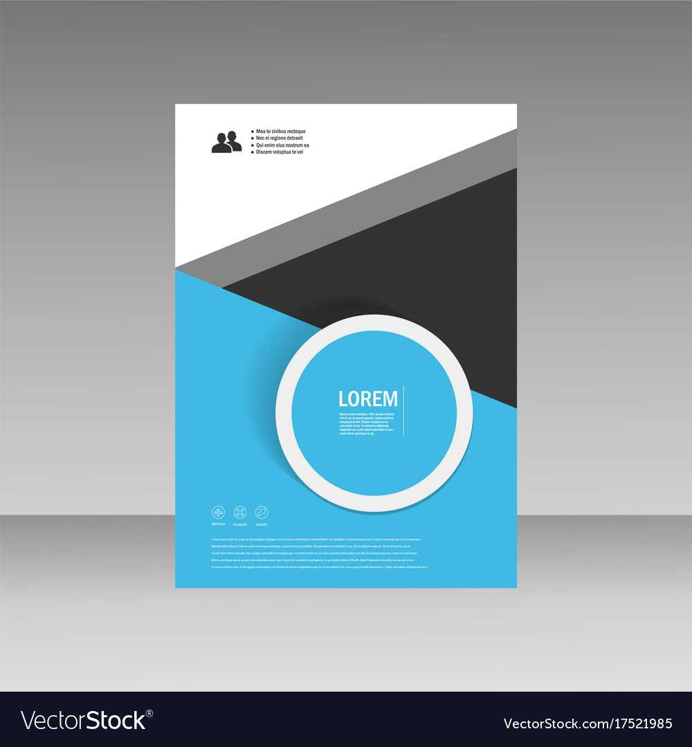 Leaflet Brochure Flyer Template A4 Size In Free Downloadable Flyer Templates