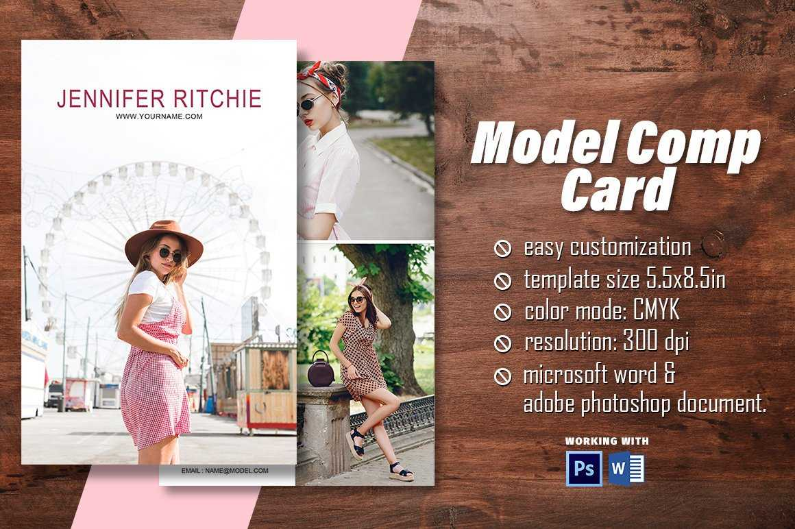 """Madhabi Studio On Twitter: """"excited To Share The Latest Pertaining To Download Comp Card Template"""