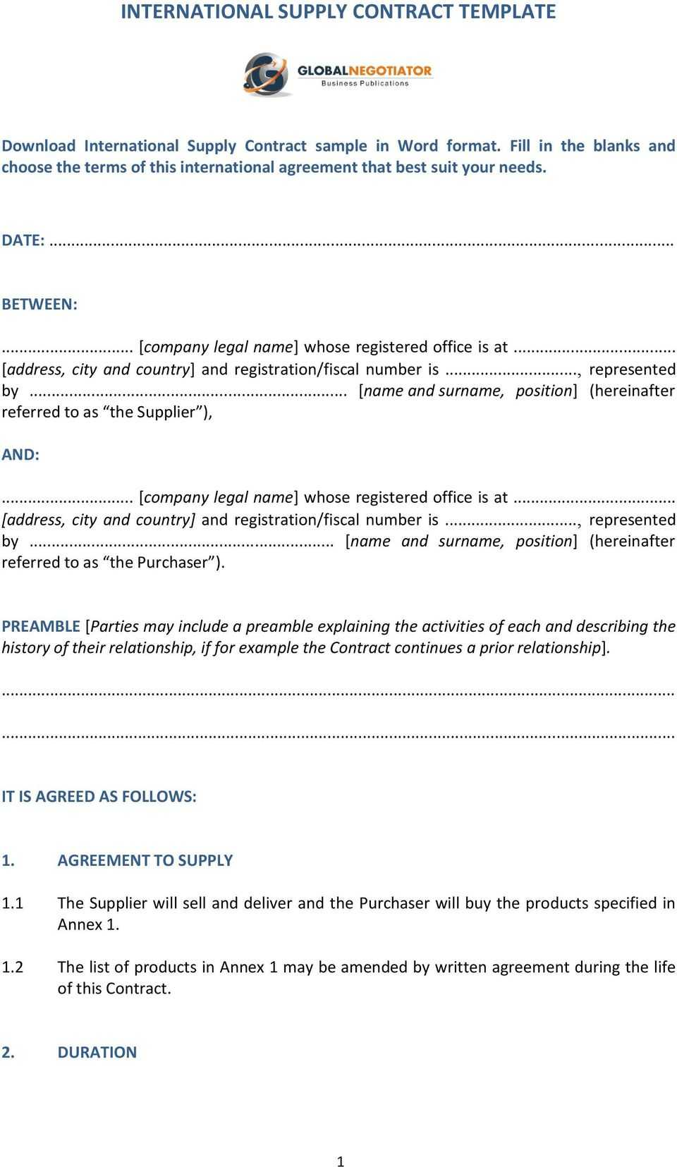 Manufacturing Agreement Template ] - Manufacturing License Within Estate Distribution Letter Template