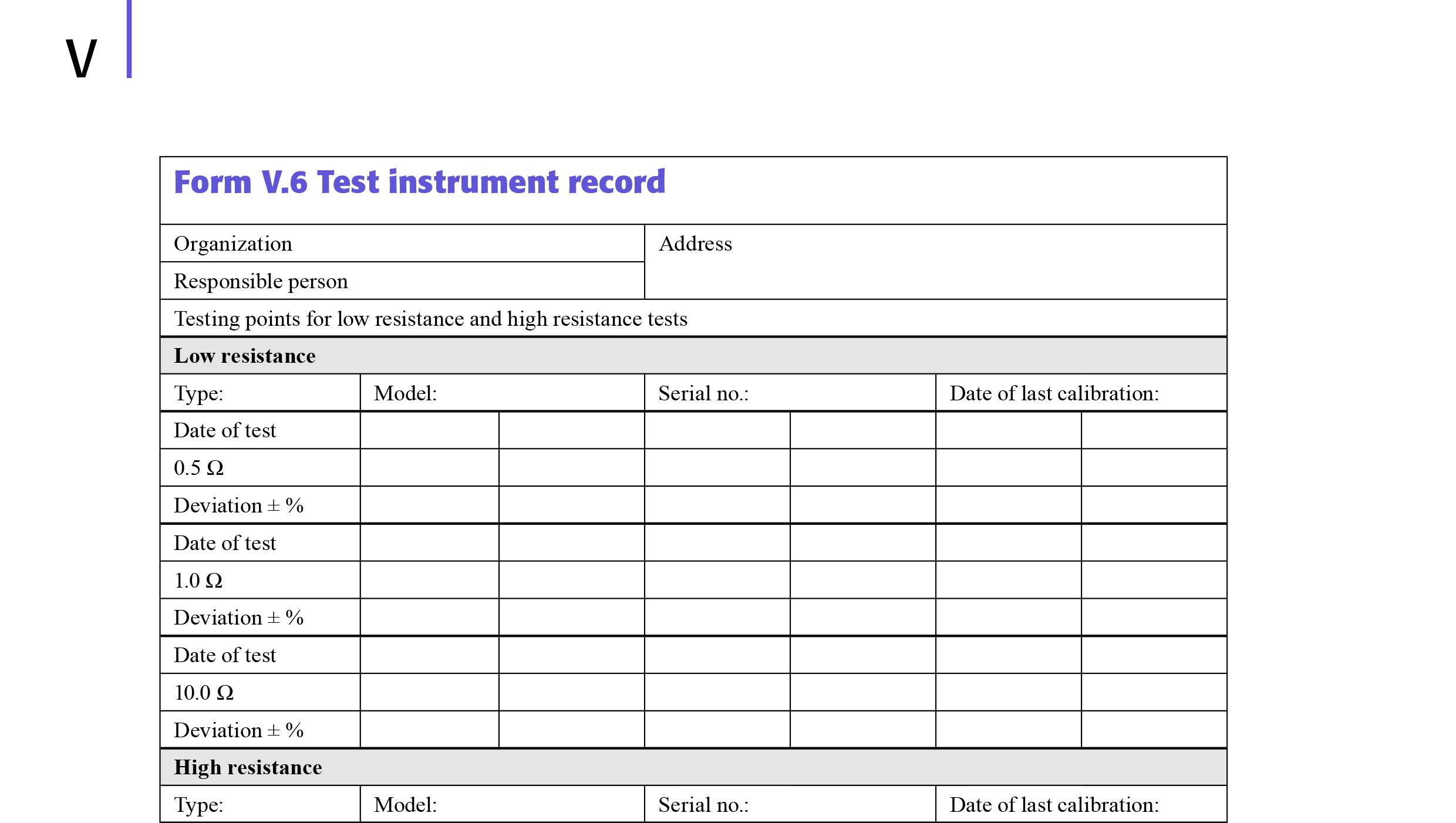 Model Forms In Electrical Minor Works Certificate Template