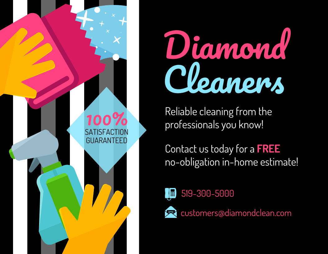 Modern Cleaning Service Flyer Throughout Flyers For Cleaning Business Templates