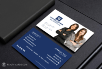 New Coldwell Banker Logo Business Cards for Coldwell Banker Business Card Template