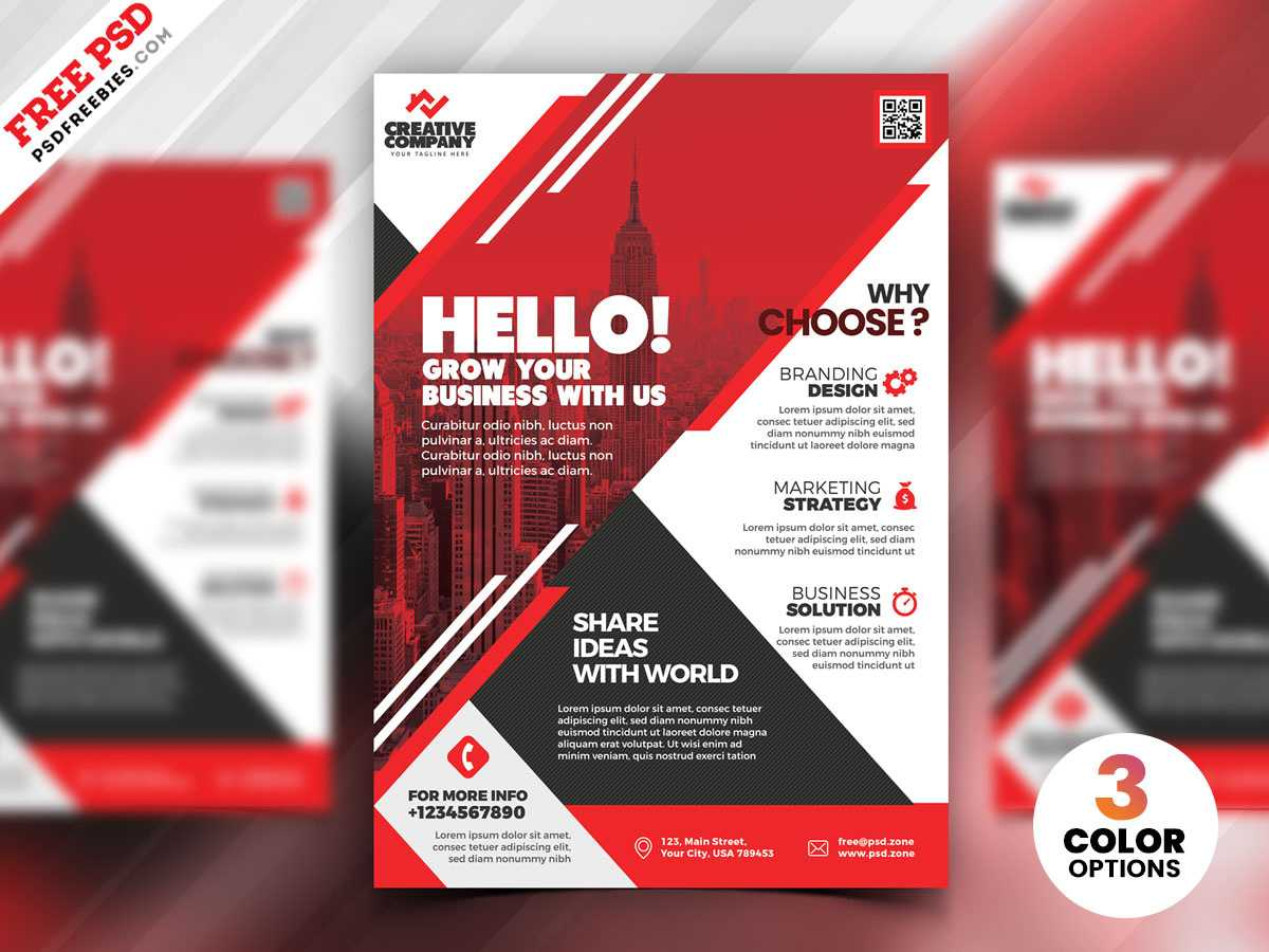 Psd Corporate Flyer Design Templatespsd Freebies On Dribbble Within Flyer Design Templates Psd Free Download