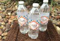 Ramadan Arabesque Water Bottle Label Template – Eid Creations with regard to Drink Bottle Label Template