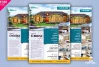 Real Estate Flyer + Social Media Free Psd Template in Free Real Estate Flyer Templates Word