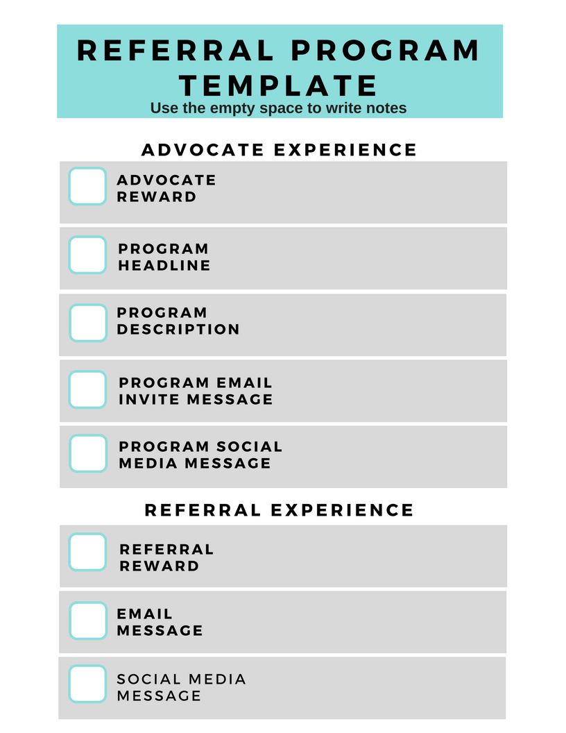 Referral Program Template - A Blueprint For Killer Conversions With Regard To Employee Referral Program Template