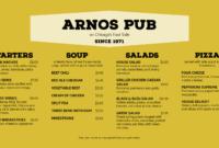 Restaurant Digital Menu Boards – Musthavemenus regarding Digital Menu Board Templates