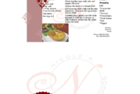 Restaurant Recipe Card Template – Edit, Fill, Sign Online in Fillable Recipe Card Template