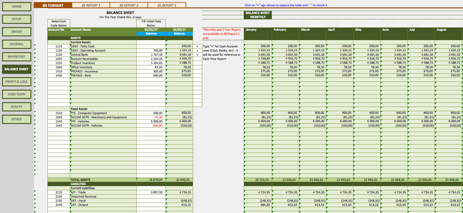 Retail Business Accounting Templates Pertaining To Excel Templates For Retail Business