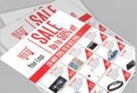Sale Flyer Free Psd Template Download On Behance inside Free Ad Flyer Templates
