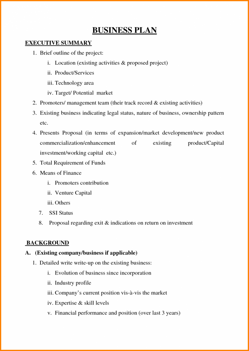 Sample Business Plan Template Poultry Farming Free Example Inside Free Poultry Business Plan Template
