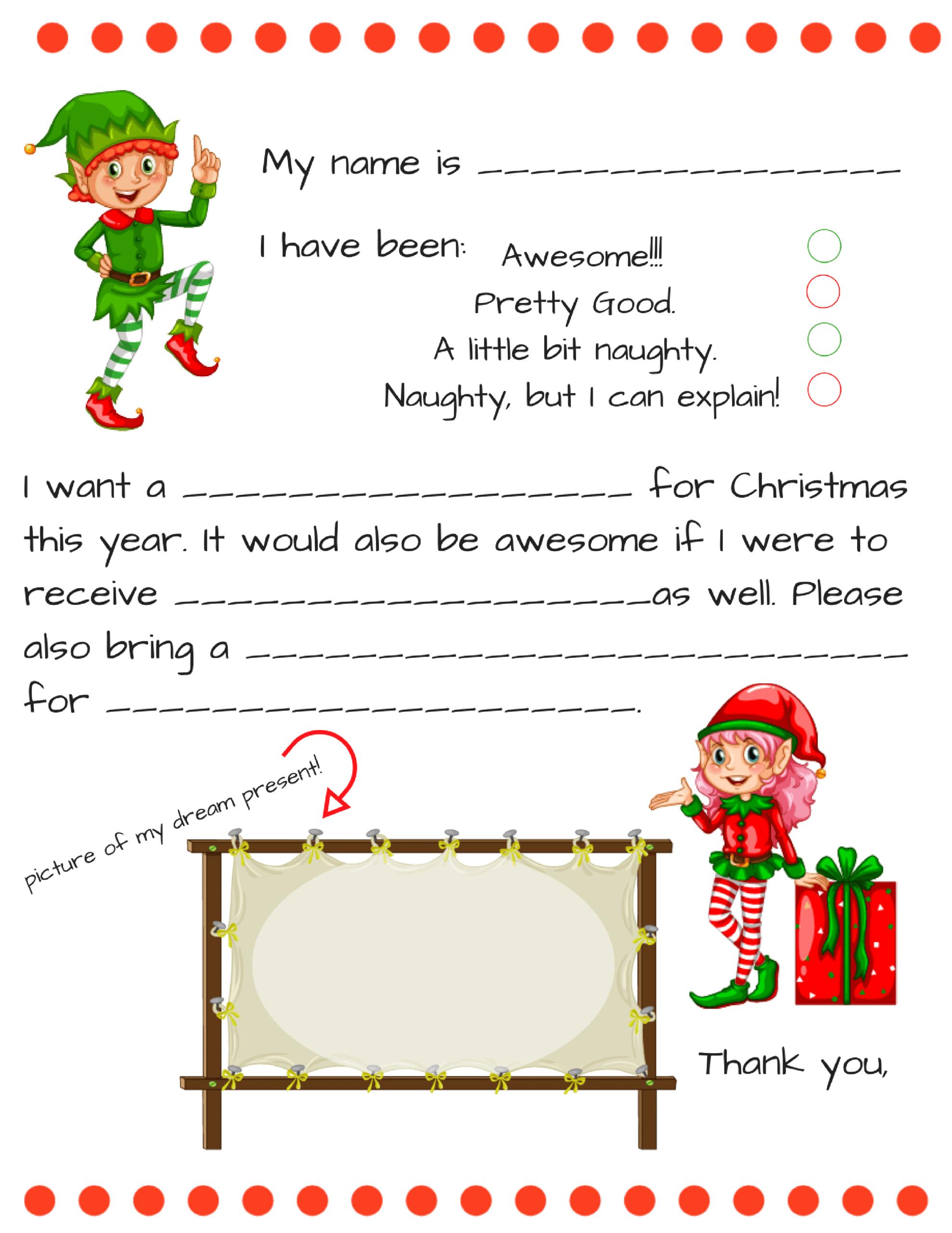 Santa Letter Templates - Tunu.redmini.co Intended For Dear Santa Letter Template Free