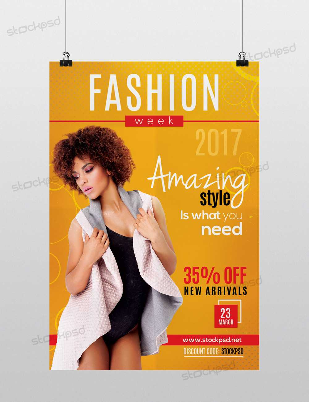 Stockpsd – Freebie Templates | Psd Flyers Archives Regarding Fashion Flyers Templates For Free