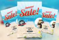 Summer Sale Free Psd Flyer Template – Psdflyer.co intended for Free Ad Flyer Templates