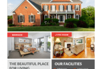 The Best Real Estate Flyer For All Realty Companies in Free Home For Sale Flyer Template