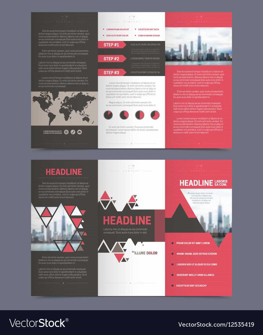 Three Fold Flyer Template For Free Three Fold Brochure Template