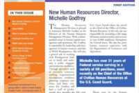 Top Employee Newsletter Template Microsoft Word Ideas within Employee Newsletter Templates