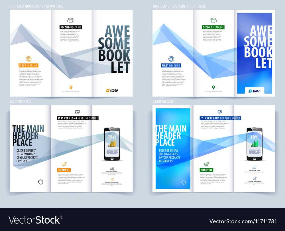 Tri Fold Brochure Template Layout Cover Design Throughout Engineering Brochure Templates