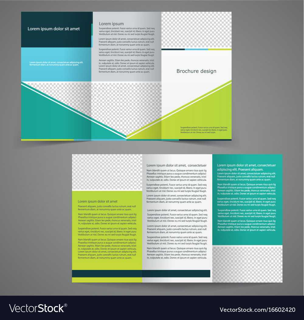 Tri Fold Business Brochure Template Two Sided With Regard To Double Sided Tri Fold Brochure Template