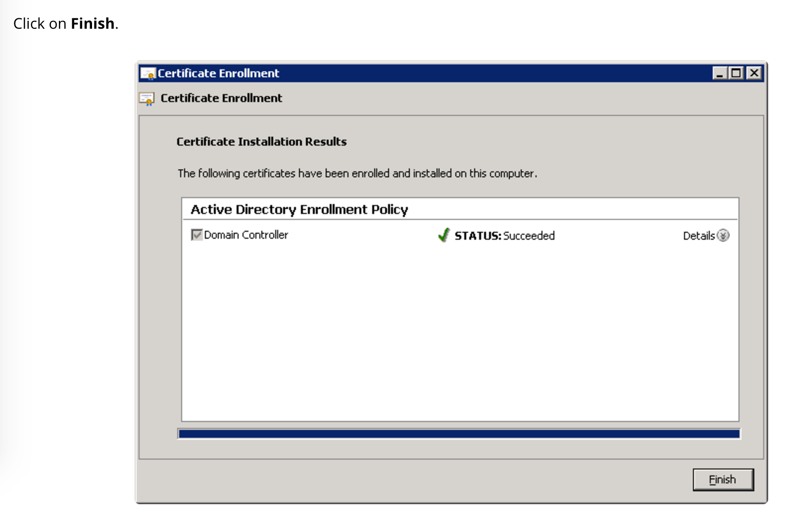 Unable To Request New Certificate From Nps Server Inside Domain Controller Certificate Template
