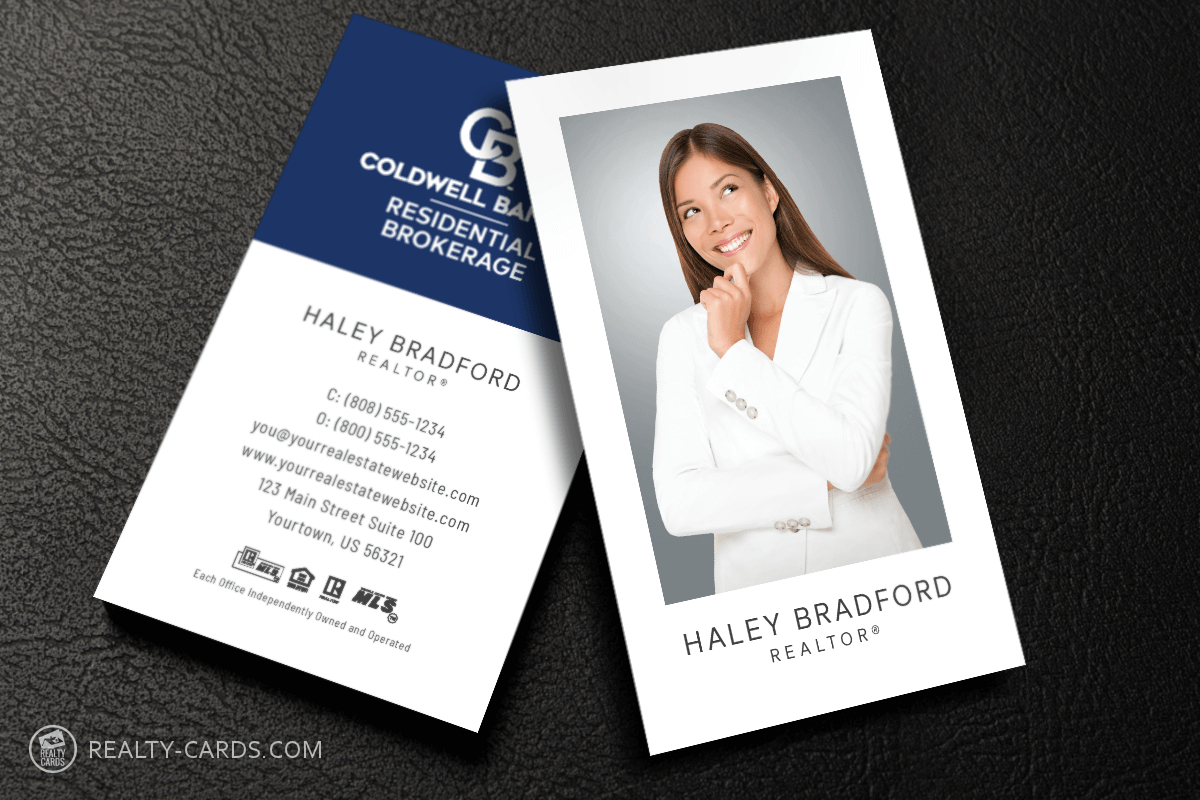 Unique Coldwell Banker Business Card Template With Coldwell Banker Business Card Template