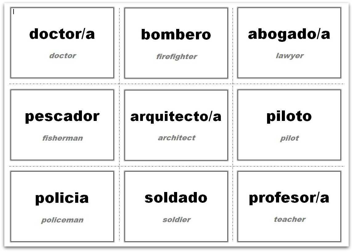 Vocabulary Flash Cards Using Ms Word With Regard To Flashcard Template Word