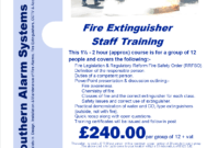Welcome – Southern Alarm Systems Ltd pertaining to Fire Extinguisher Certificate Template