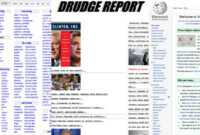 When It Pays To Have An Ugly Website | Inc with regard to Drudge Report Template